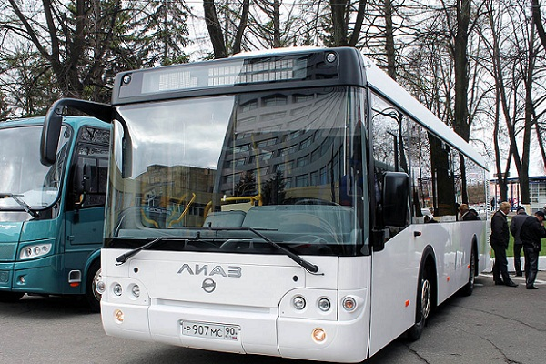"""GAZ Group"" introduced new model of bus in Nizhny Novgorod, Russia"