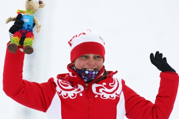 Anastasia Sedova from Nizhny Novgorod won Gold Medal on Russian Skiing Championship