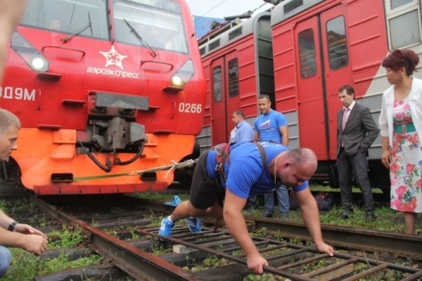 Seaside athlete budged train