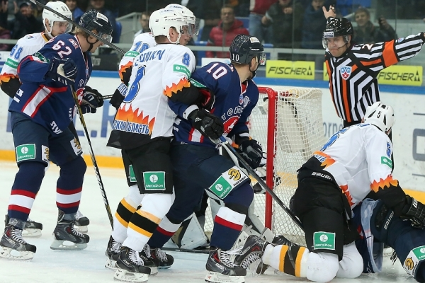 Torpedo bet Severstal in a Shootout