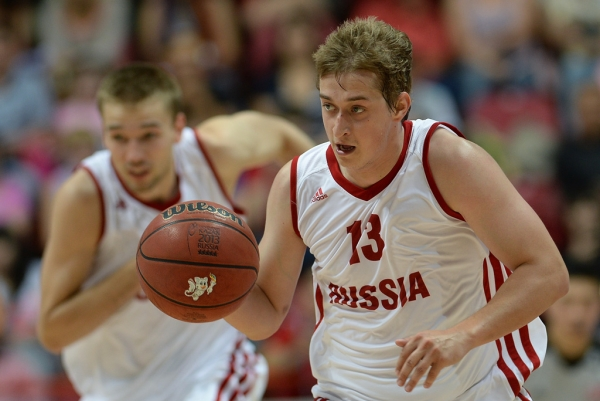 The debut match of the national team of Russia on basketball under the leadership Pashutin was victorious