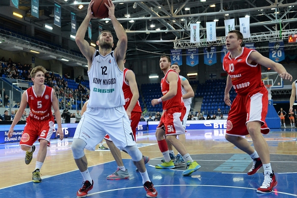 BC Nizhny Novgorod beat Nimburk from Czech Republic