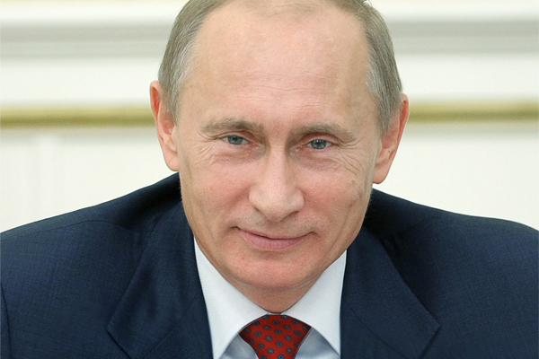Vladimir Putin Reported on His Incomes in 2014