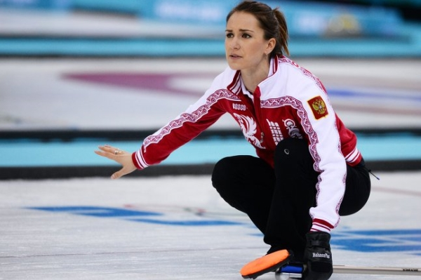 Russian Women's Curling Team keeps winning on European Championship