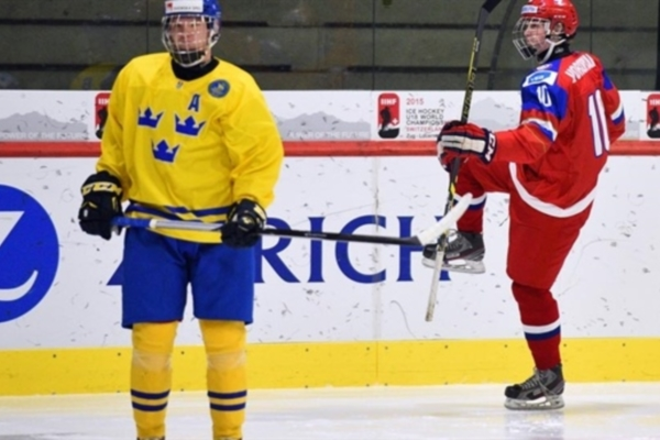 2015 IIHF World U18 Championship: Russian Team Smashed Sweden