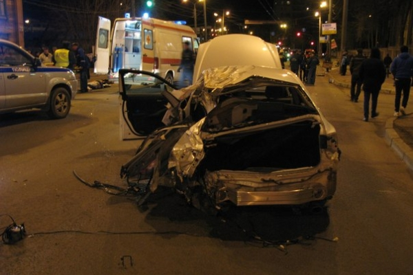 The case of Lexus accident on Sennaya Square came to court