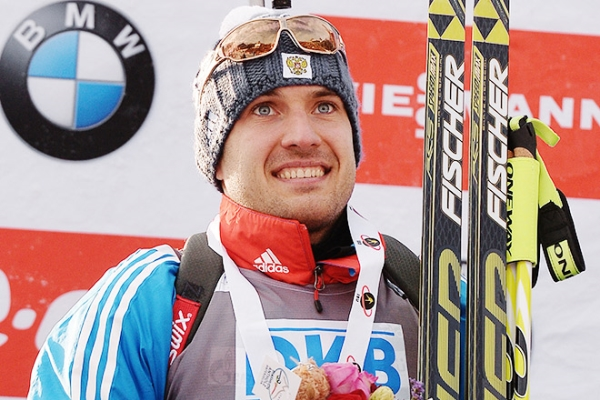 In Pokljuka Garanichev won bronze in the sprint