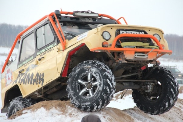 """Russian Hills: Winter Edition"" will show all abilities of 4x4"