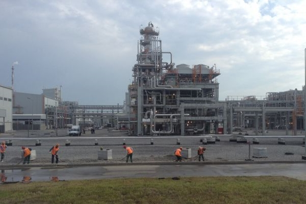 "Construction of ""Rusvinil"" Ltd has been successfully completed in Kstovo, Russia"