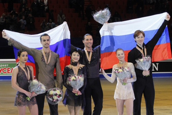 Full Set of Euro Figure Skating Awards won by Russians