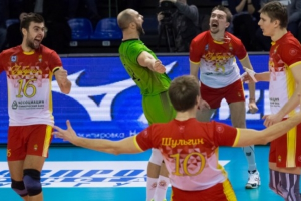 Guberniya Nizhny Novgorod won in another match of Russian Volleyball Championship