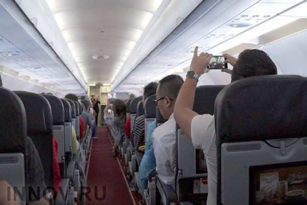Rossiya Airlines allows to use electronic devices at takeoff and landing