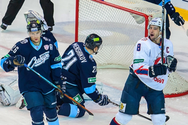 Torpedo won in a second match in a row against Sibir in Continental Hockey League