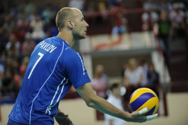 Russian National Volleyball Team won in friendly match against Argentina