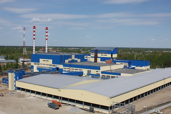 Third production line has been launched in Bor, Russia