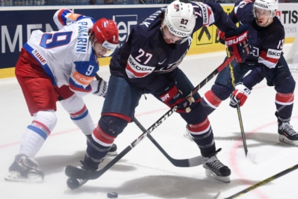 First Defeat of Russian Hockey Team on 2015 IIHF World Championship