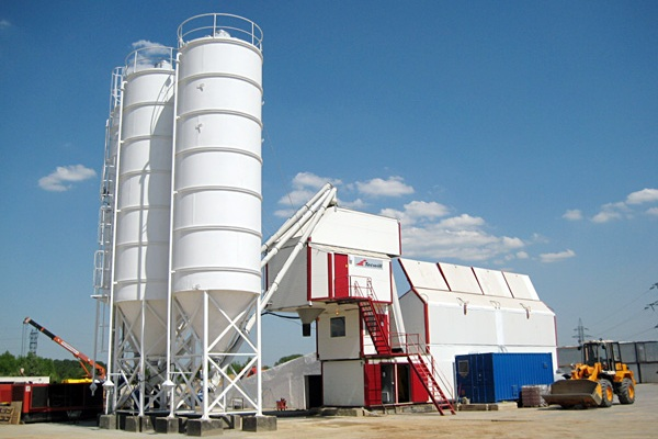 Concrete-Mixing Plant was opened in Nizhny Novgorod Region