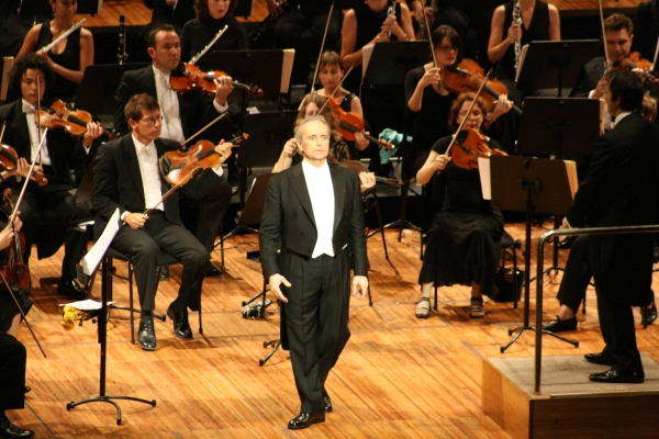Jose Carreras will end his World Tour on the Main Russian Stage