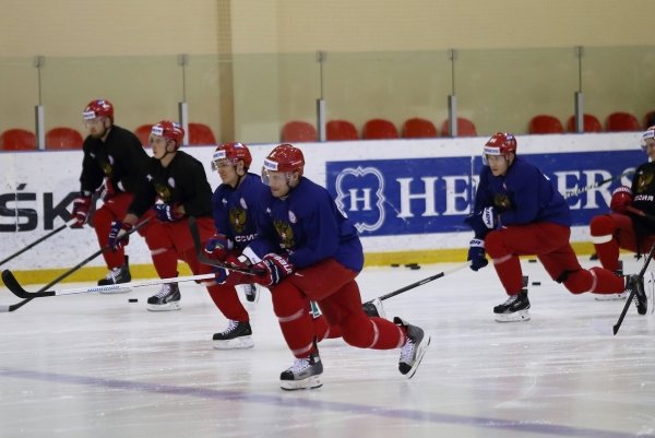 Russian Hockey Players came to Sochi