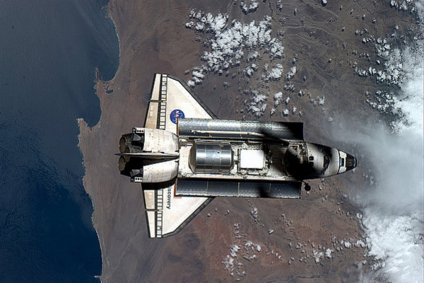 US has stolen Russian Shuttle