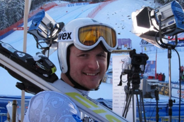 Alexander Horoshilov won Gold Medal in Slalom