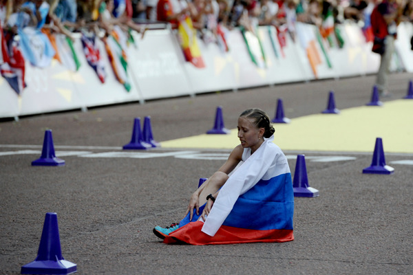 Russian Nordic Walkers were Disqualified