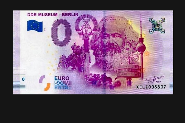 In Europe, issued banknotes in denominations of zero euros