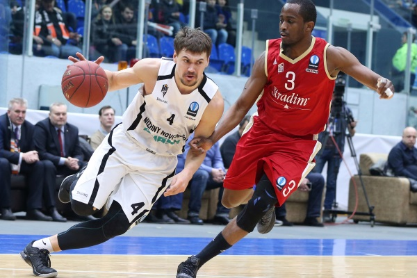 "BC ""Nizhny Novgorod"" lost ""Strasbourg"" in the Eurocup"