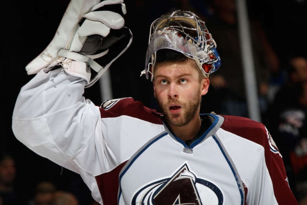 The NHL Semyon Varlamov is recognized as the first star of the match