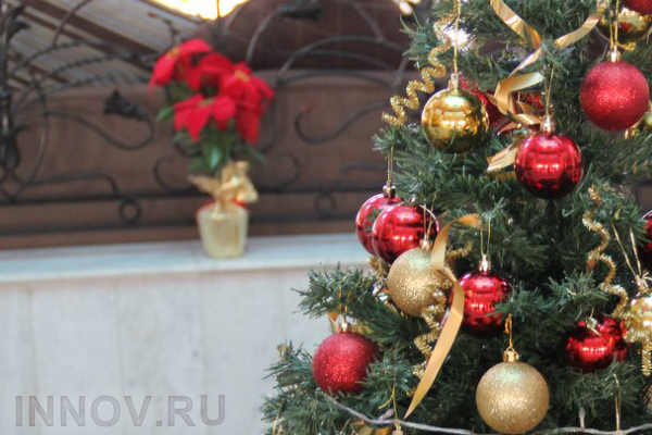 New Year decoration will be finished by the 1st of December in Nizhny Novgorod, Russia