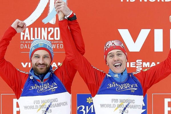 Kryukov and Petuhov won Silver Medals in World Cup Team Sprint