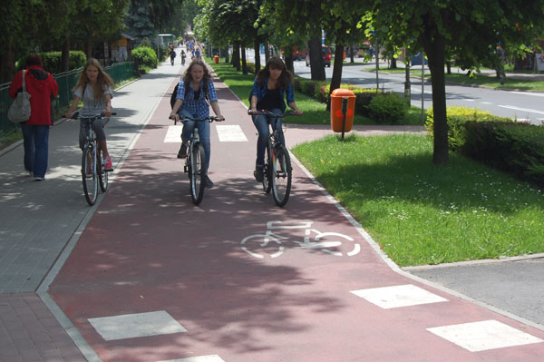 More than 100 kilometers of bikeways will be built in Nizhny Novgorod, Russia