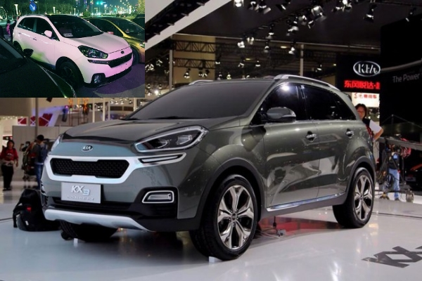 Spy Shots of new KIA KX3 Crossover are Available in the Web