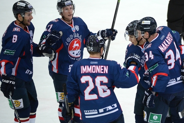 Russia: Torpedo won in a match against Metallurg Novokuznetsk 6:1